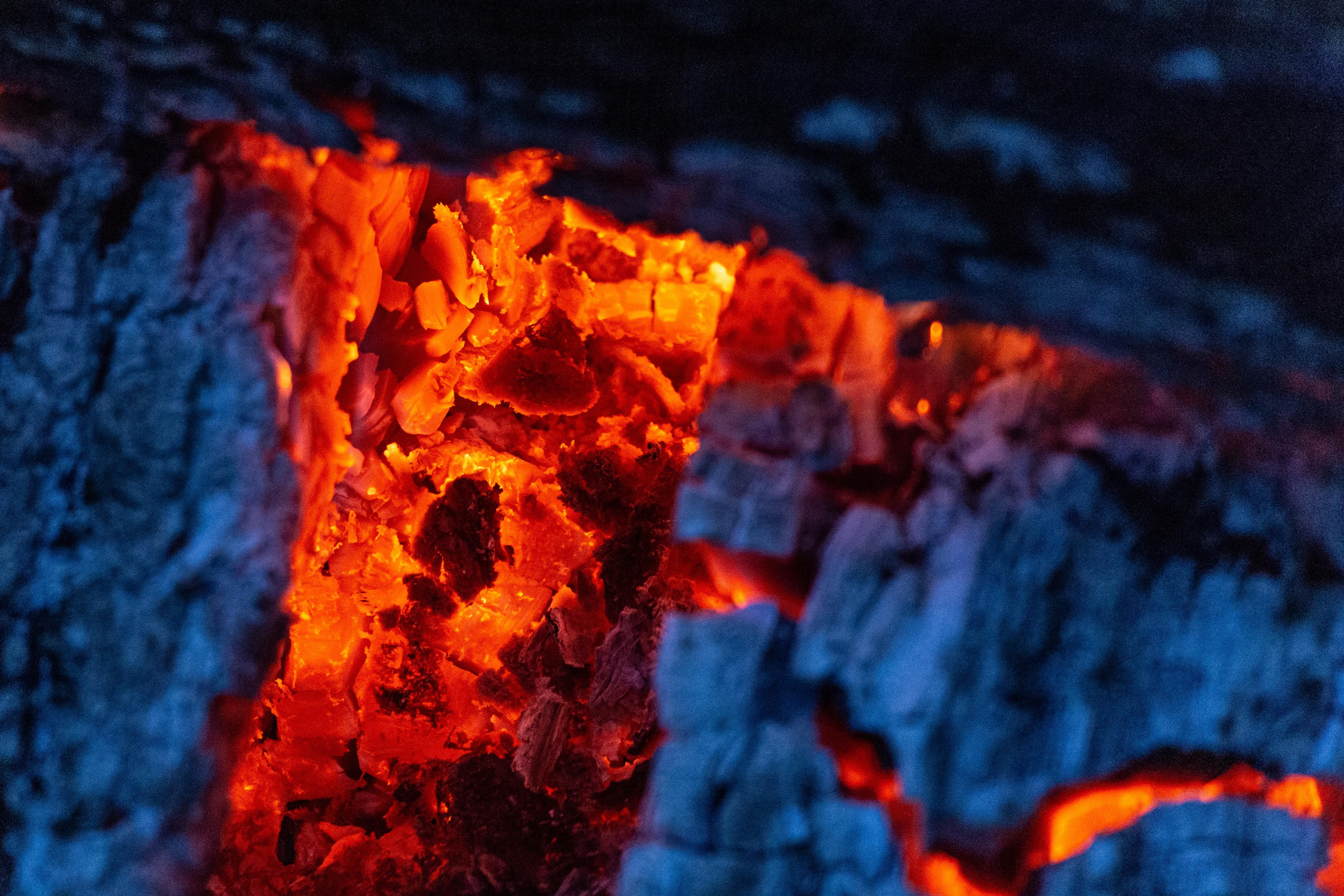 Сушка помещения тлеющими углями